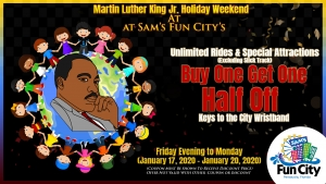 MLK Weekend @ Sam's Fun City